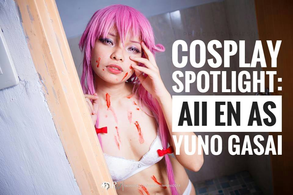 [COSPLAY SPOTLIGHT] December 2016: Aii En as Yuno Gasai