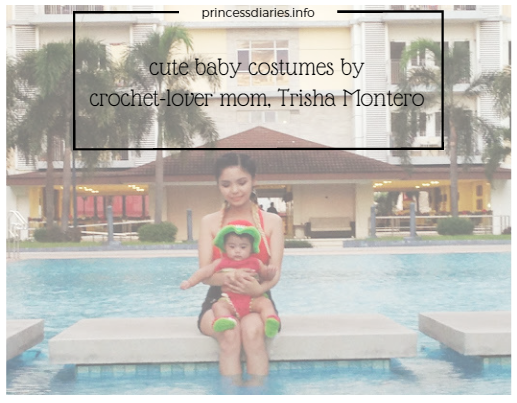 Crochet-lover mom clothes her daugter with cute costumes