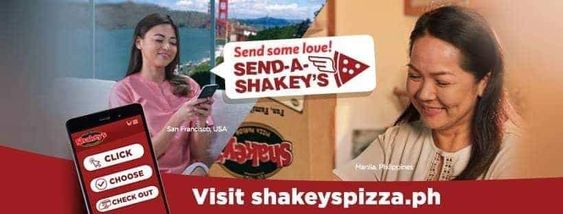 Mother's Day Surprise through Send A Shakey's