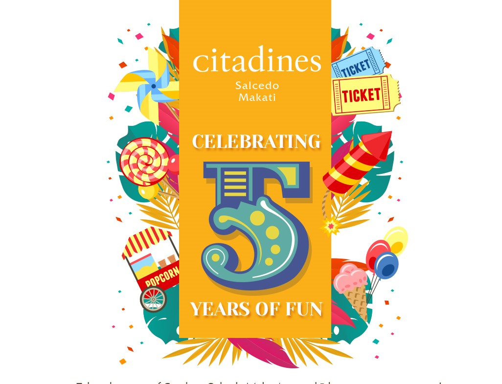 Celebrating Five Years of Fun at Citadines Salcedo Makati