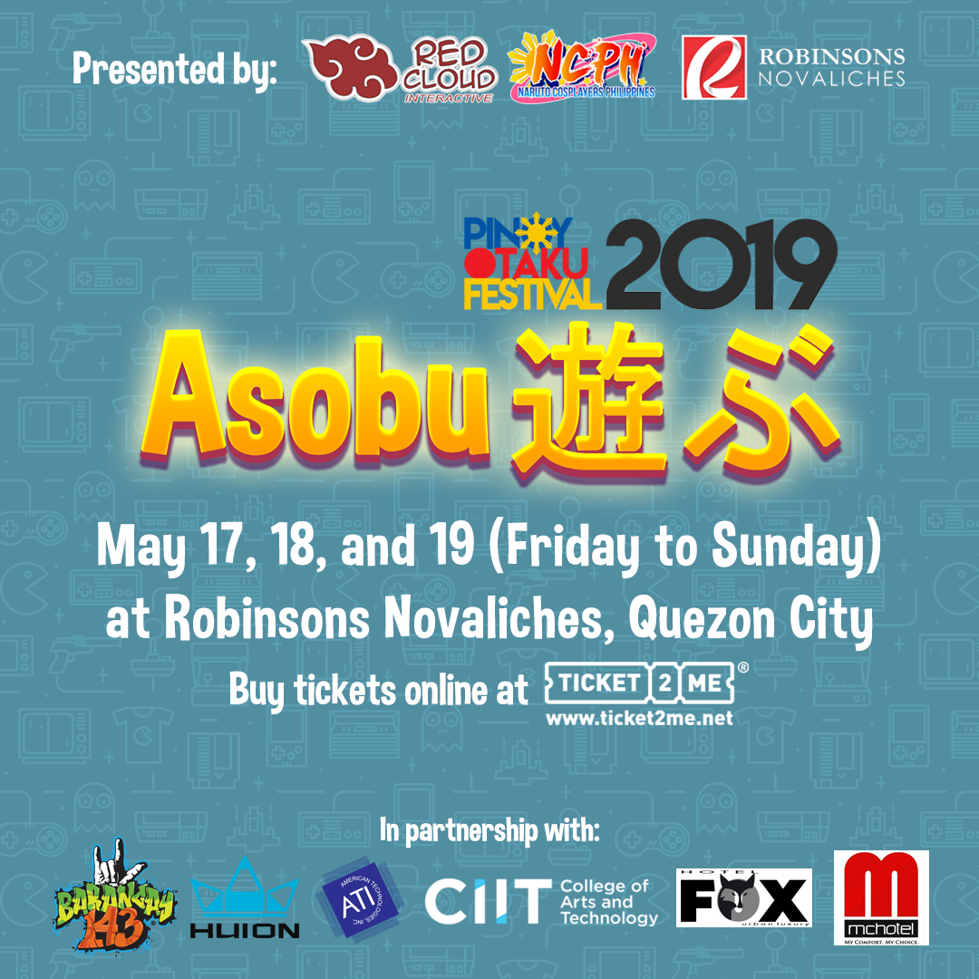 Let's Play! Pinoy Otaku Festival 2019: Asobu