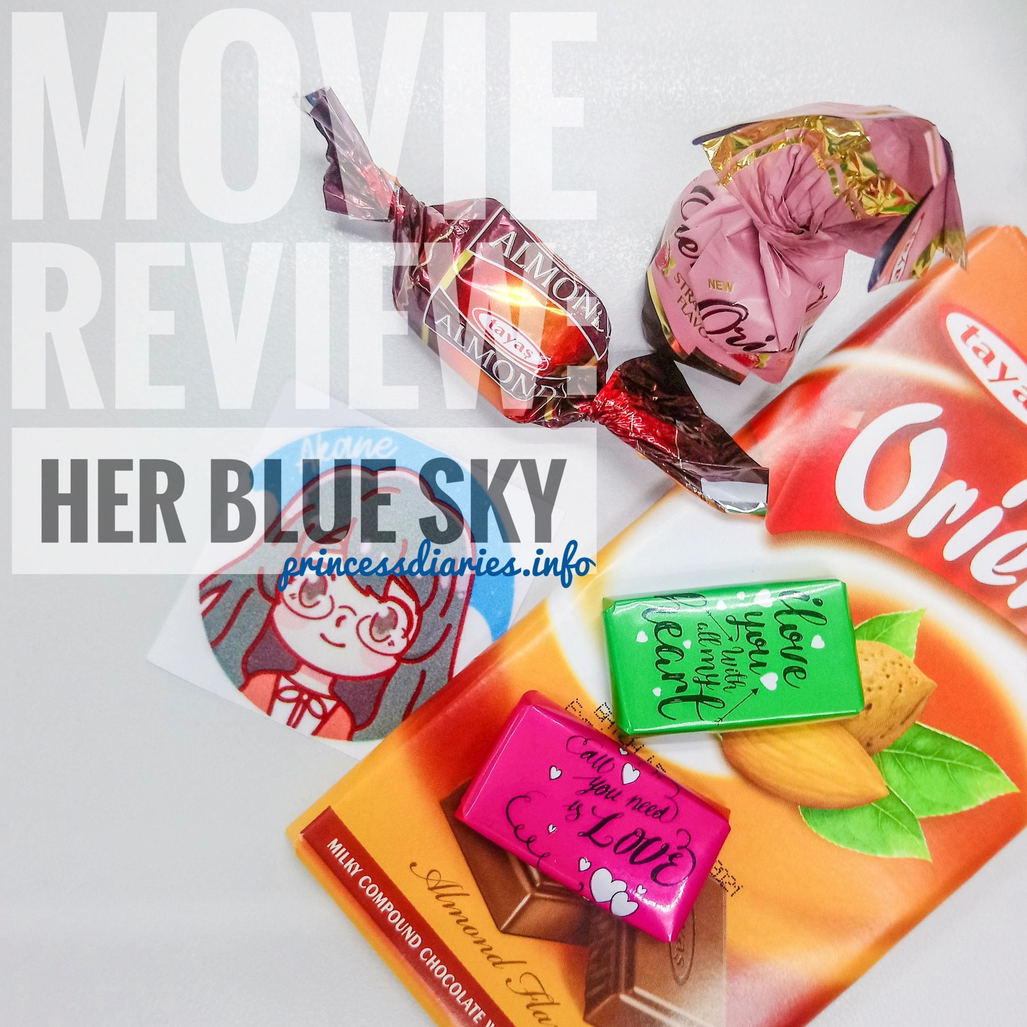 Anime Movie Review: Her Blue Sky