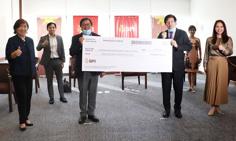 BPI employees and clients raise P12.7M for disaster, pandemic facility